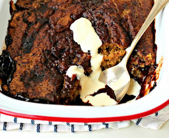 Espresso Chocolate Self-Saucing Pudding