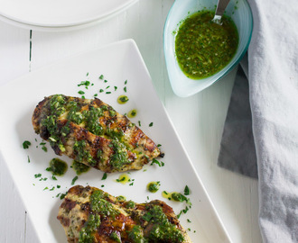 Grilled Chicken Chimichurri Recipe