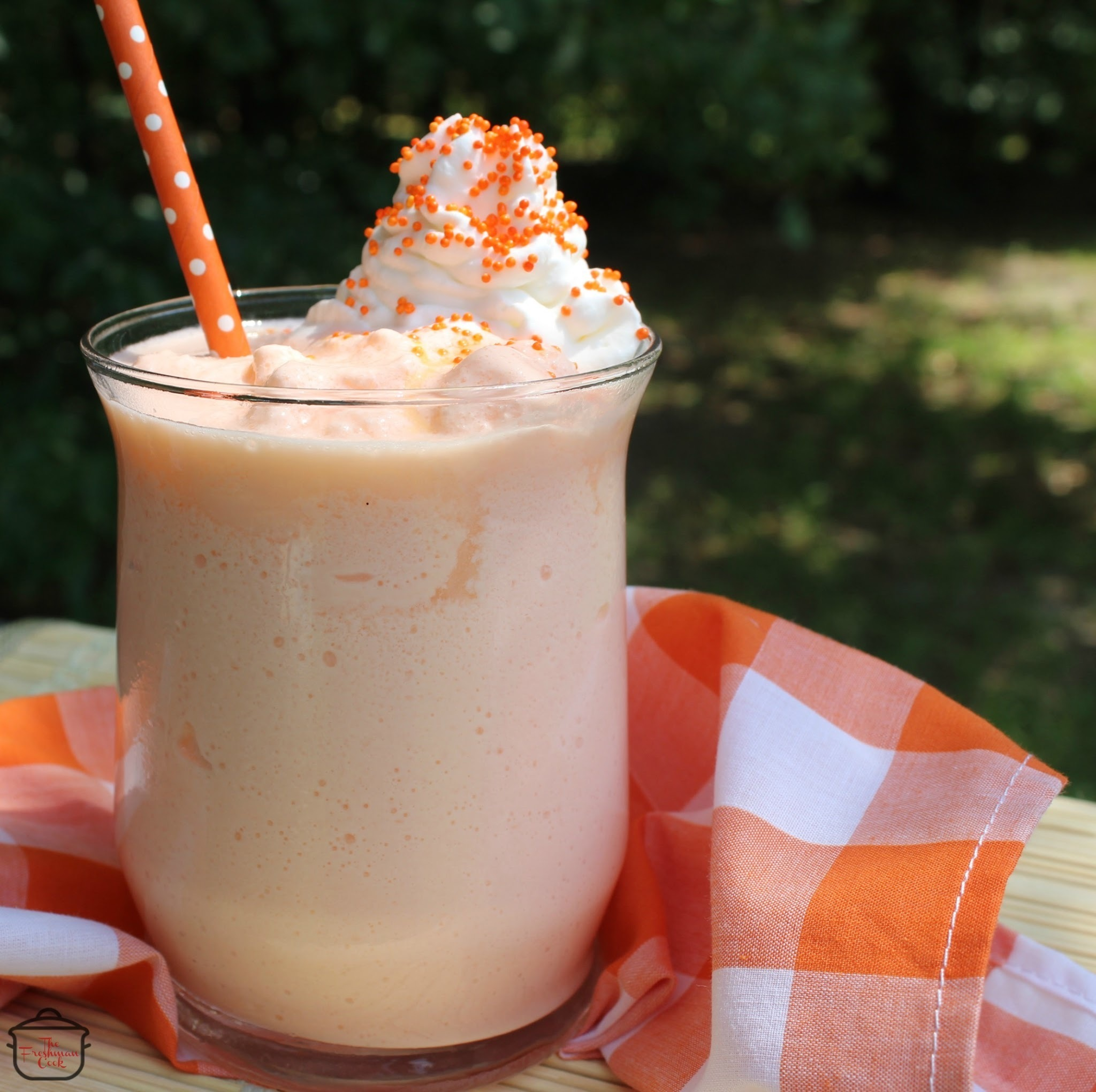 Dreamsicle Mocktail / #SundaySupper