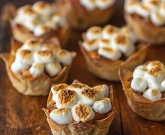 Mini Sweet Potato Souffle Cups