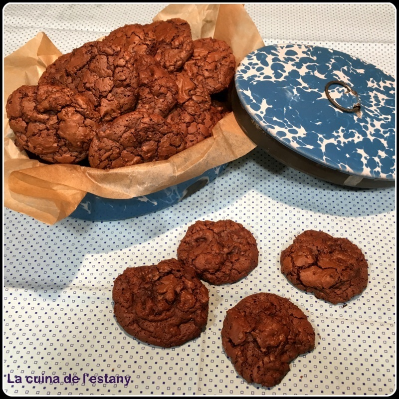 COOKIES BROWNIE de XOCOLATA