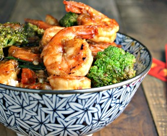 Chinese Shrimp and Broccoli Stir Fry