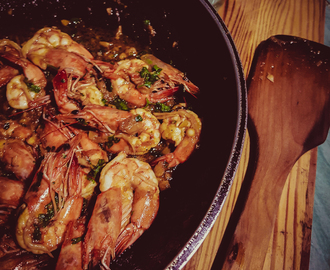 Stir Fried Prawns in Oyster Sauce