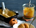 Pumpkin Ice Cream with Pumpkin Caramel Sauce