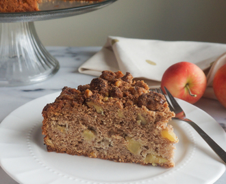 Apple Crumb Cake with Truvia Brown Sugar Blend