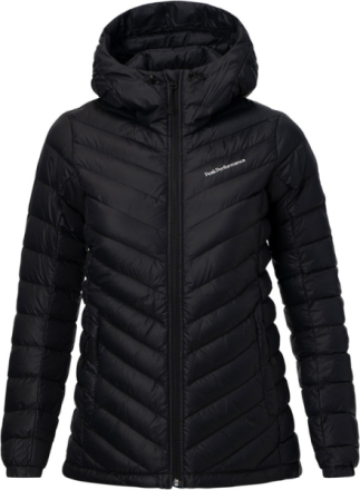 Peak Performance W's Frost Down Hooded Jacket Black 2018 XS Vandringsjackor