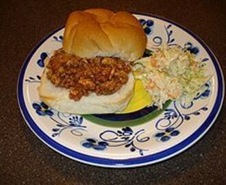 One of America's Favorites - Sloppy Joe