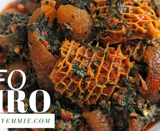 UPDATED EFO RIRO RECIPE!!!