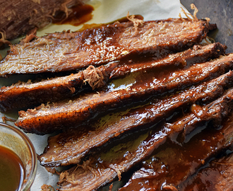 Beer Braised Beef Brisket #SundaySupper