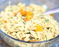 Mint & Basil Orzo with Honey Roasted Tomatoes