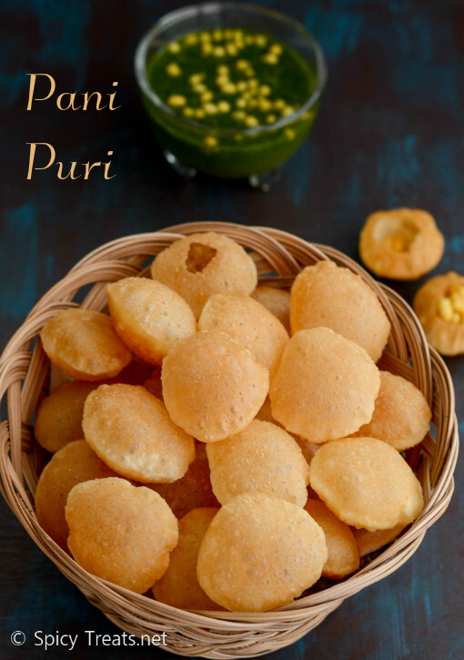Pani Puri Recipe | Golgappa Recipe | How to Make Puris For pani Puri | Golgappa - Street Food Recipe