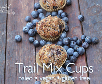 Trail Mix Cups {paleo, dairy & gluten free}
