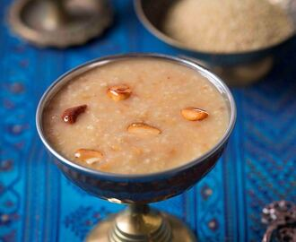 Thinai Pasiparuppu Payasam