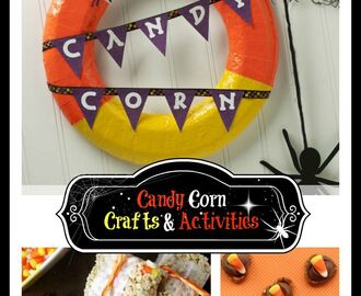 Super Sweet Candy Corn Crafts and Treats
