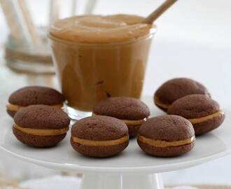 Caramel Filled Chocolate Biscuits