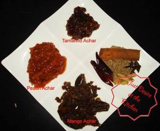 Bangla Achar with Chaat Masala / Pickle Homemade