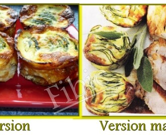 Clafoutis courgette