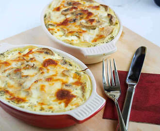 Gratin de poisson facile au thermomix