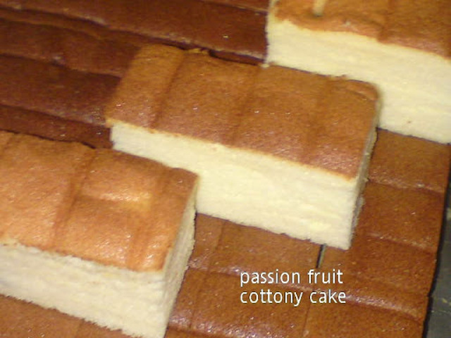 Passion Fruit Cottony Cake [Ogura]