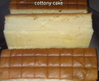 Carrot Orange Cottony Cake [Ogura]