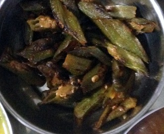 Low Fat Sookhi Bhindi - for diabetics | Easy Side dishes