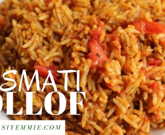 BASMATI JOLLOF RICE RECIPE THAT WOULD PUT A SMILE ON YOUR FACE!