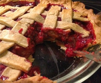 Rustic Raspberry Pie