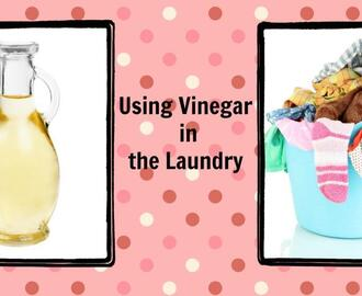 Using Vinegar in the Laundry