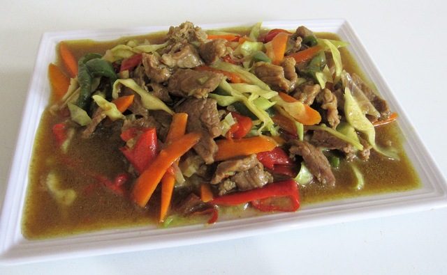 My Chinese style shredded beef gravy Recipe