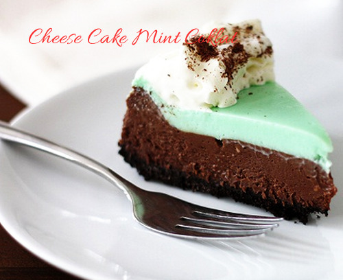 Resep Membuat Cheese Cake Mint Coklat Special