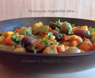 Moroccan Vegetable Stew….DFT