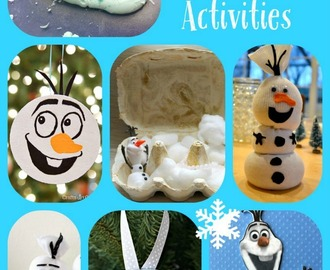 10 Olaf Crafts and Activities the Kids will Love!