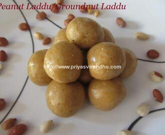 Peanut Laddu/Groundnut Ladoo/Kadalai Urundai/Hot to make Peanut Laddu
