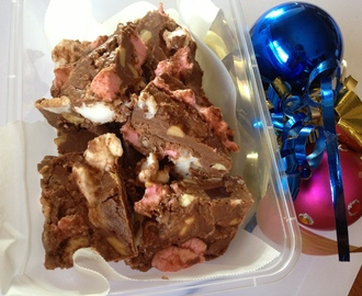 Holiday Post #1: Rocky Road
