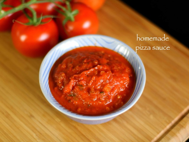 pizza sauce recipe | homemade pizza sauce recipe