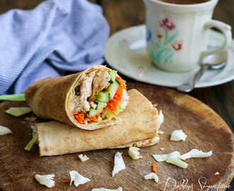 Chicken Shawarma (Pita chicken wrap)