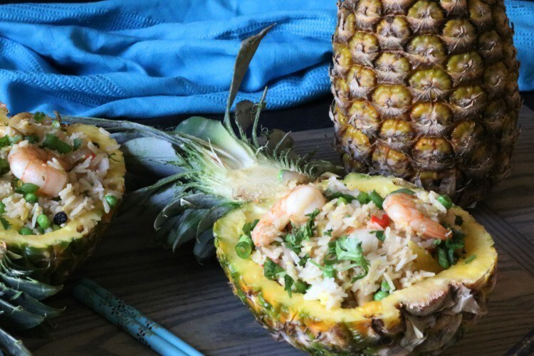 Thai Style Pineapple Fried Rice