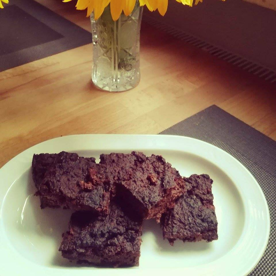 Healthy Brownies mit Zuchini Varianate 1