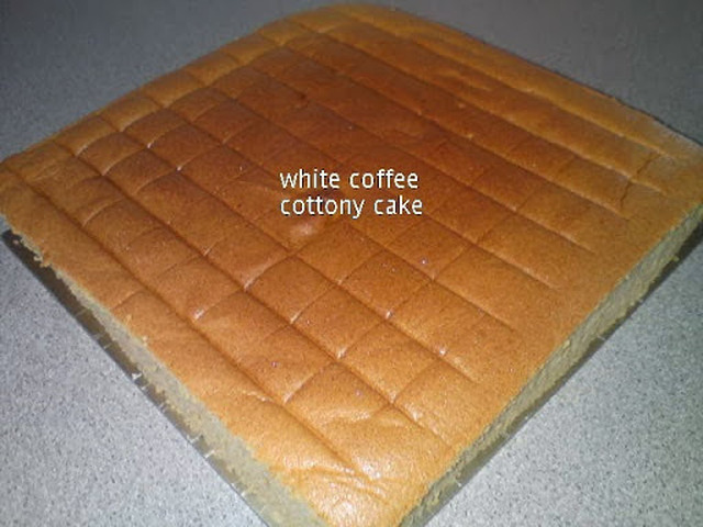 White Coffee Cottony Cake [Ogura]