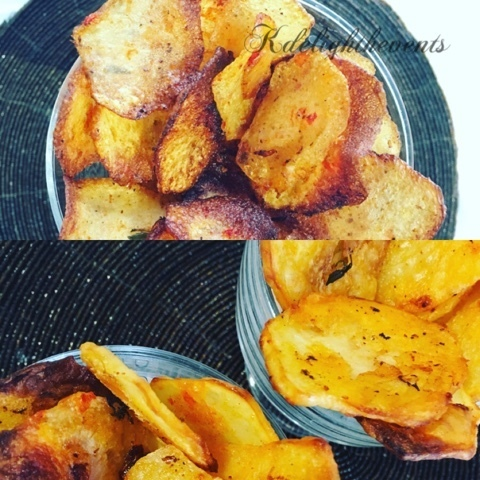 Walkers potatoes style crisps (potatoes crisps jollof flavour)