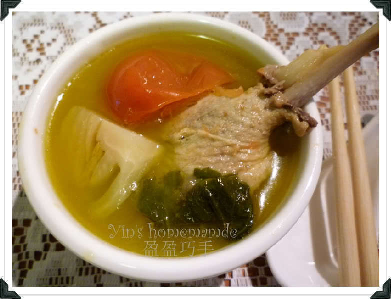 Salted Vegetables Duck Soup (Kiam Chai Ark) 咸菜鸭汤