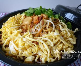STIR FRY VERMICELLI PASTA 炒意大利面线 (Featured in Group Recipes)