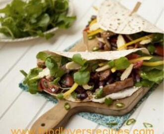 MEXICAN BEEF TORTILLA WRAPS