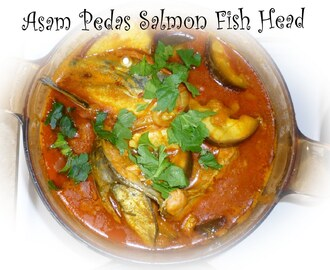 Assam Pedas Salmon fish head 亚叁鱼头