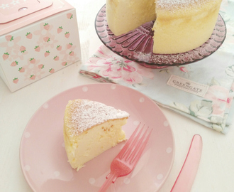 Tarta de Queso Japonesa / Japanese Cotton Cheesecake