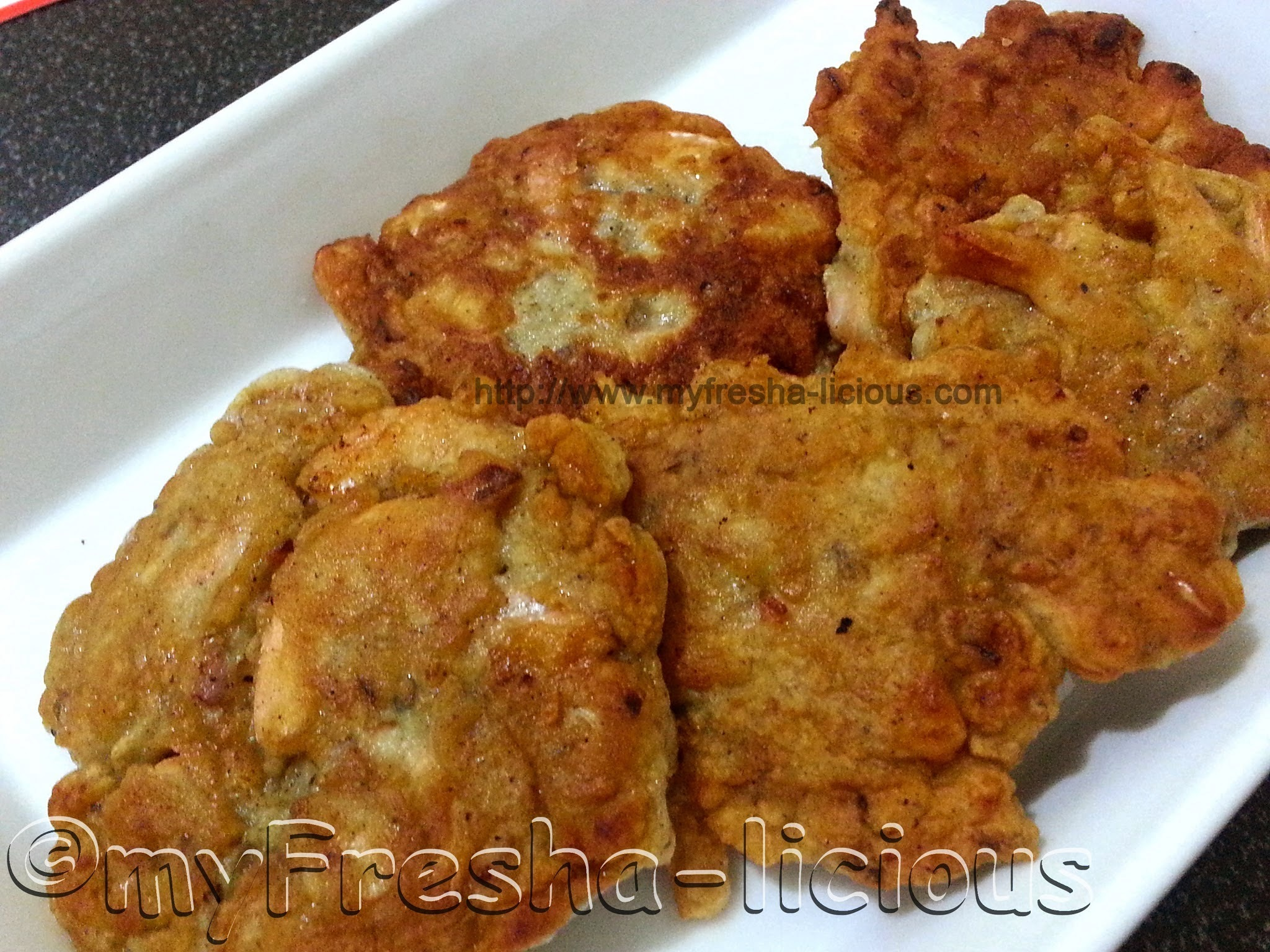 Ukoy - Filipino Shrimp Fritters