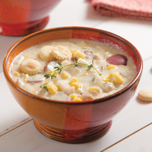 Fish, Potato and Corn Chowder