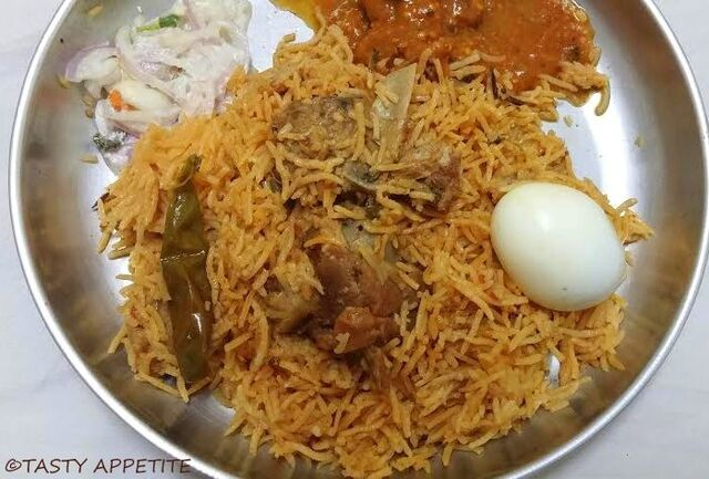 Mutton Biryani Recipe / How to cook Spicy Mutton Biryani / Biryani Recipes
