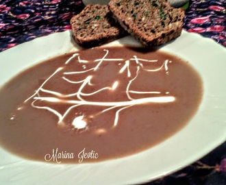 BATAT CORBA SA CIMETOM & SWEET POTATO SOUP WITH CINNAMON