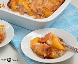Old Fashioned Peach Cobbler – nothing like it!